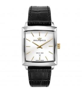 orologio solo tempo uomo Philip Watch Newport