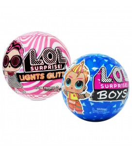 LOL Surprise Lights Glitter + Lol Surprise Boys 2