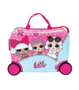 Trolley ABS Valigia Rigida Cavalcabile  LOL Surprise